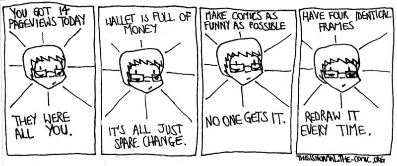 Socially Inept Cartoonist