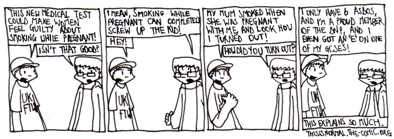 Smoking + Pregnancy = Bad